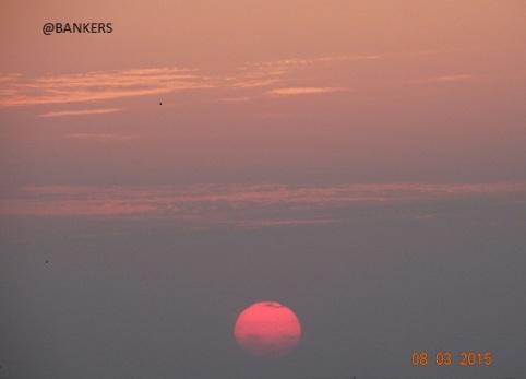 Earlu sunrise moment