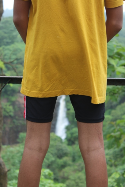 different view of ninai water fall